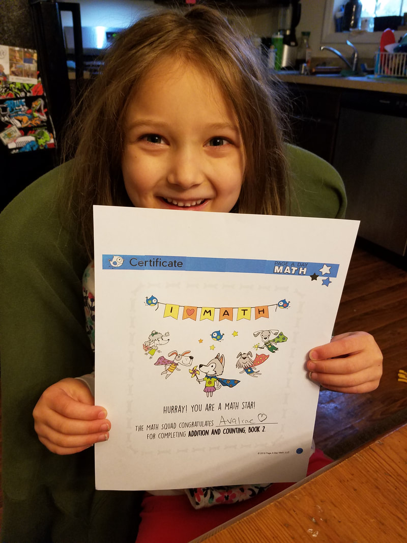 Page A Day Math Review, Humor Homeschool Healthier Living, Alexandra Kulick