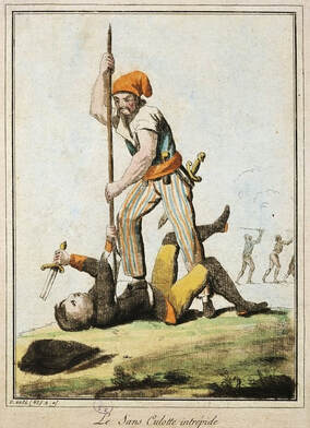 French Revolution Killing Guards